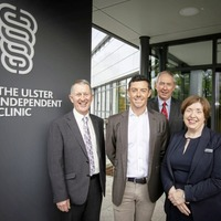 Rory McIlroy tees off new £8.2m outpatients department at Ulster Independent Clinic