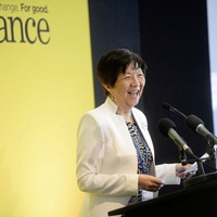 Anna Lo receives honorary doctorate from The Open University