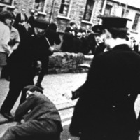 Altnagelvin hospital was like a war zone following October 5 Civil Rights march