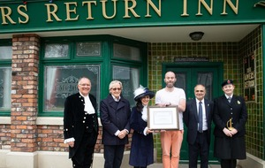 Coronation Street receives award for services to humanity
