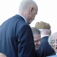 President Michael D Higgins' emotional tribute to Ivan Cooper