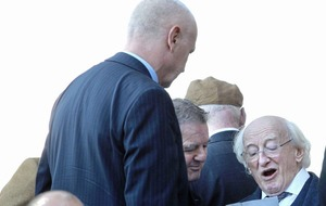 President Michael D Higgins' emotional tribute to Ivan Cooper