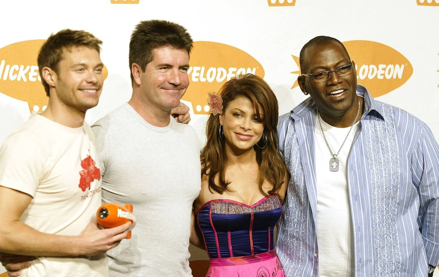 Simon Cowell reunited with American Idol team on X Factor