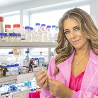Elizabeth Hurley takes part in research into breast cancer treatment