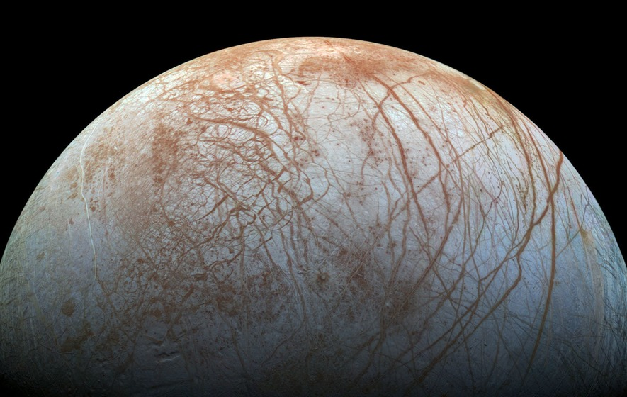Report Says Jupiter's Moon Europa Has Ice Spikes