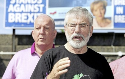 Sinn Féin's Bobby Storey under threat from 'criminal elements'