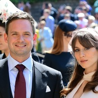 Suits star Patrick J Adams says it's 'a brave new world' as he becomes a father