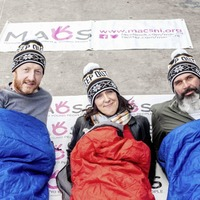 DJs join Belfast sleep out aimed at combating youth homelessness
