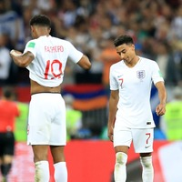 Marcus Rashford was a bit sad his mate Jesse Lingard had to miss England duty