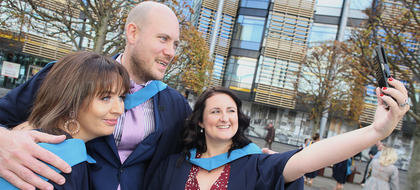 Open University graduations, Waterfront Hall, October 5 2018