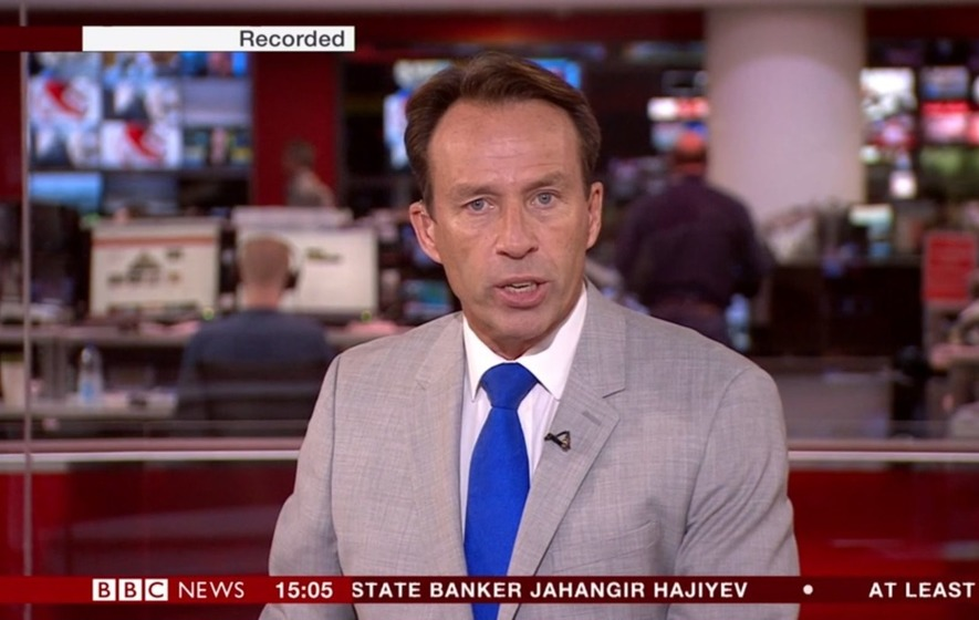 Technical issue' blamed for live BBC News channel airing recorded