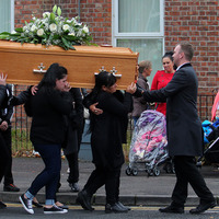 Funeral held for 'beautiful, selfless' mother-of-six Fiona McNally
