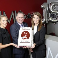 JMK Solicitors celebrates record business in 15th year