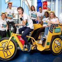 McLaren F1 team designs rickshaw for The One Show's charity challenge