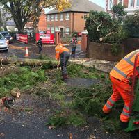 Thousands without power as Storm Callum sweeps in