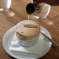 James St Cookery School: Passion fruit soufflé and honey madeleines