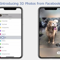 Facebook users can now post and view 3D photos on their feeds