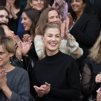 Rosamund Pike joins celebration of women as BFI continues equality mission
