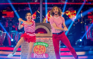 Strictly's Seann Walsh and Katya Jones pull off first dance since kiss drama