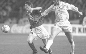 VIDEO WATCH: The Irish News Archive - Oct 15 1998: New-boy Robbie Keane on target for Republic
