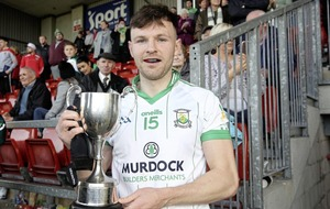 Burren star Donal O'Hare relieved to end long wait to get his hands on Down title once more