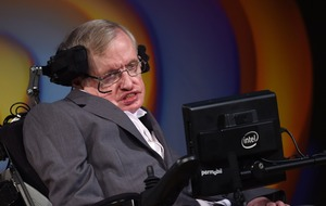 Stephen Hawking's words from beyond the grave bring tears to daughter's eyes