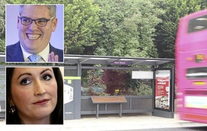 DUP MPs at odds over Glider bus stop, Translink emails claim