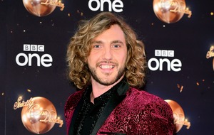 Rebecca Humphries in celebratory mode after Seann Walsh split