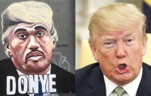 Meet Donye, the melding of Donald Trump with Kanye West, and artist Lush Sux