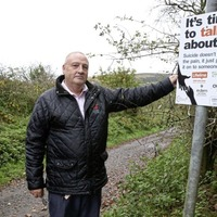 Signs erected in Cave Hill country park
