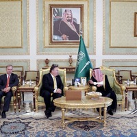 US secretary of state Mike Pompeo meets Saudi Arabia's King Salman over journalist's disappearance