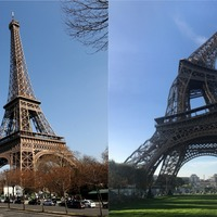A tourist got this picture of the Eiffel Tower and the internet can't get enough