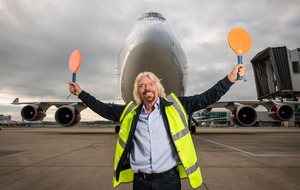 Sir Richard Branson honoured with Hollywood Walk of Fame star