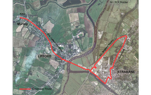 Cross border cycle/walk route will link Strabane and Lifford