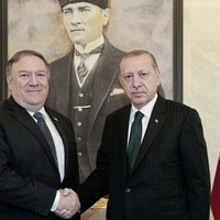 US secretary of state Mike Pompeo meets Turkish leaders as account of 'Saudi journalist's murder' is published