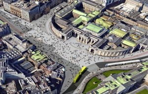 Pedestrian plans for Dublin's College Green turned down