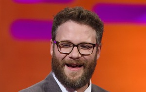 Seth Rogen shares photo of The Lion King cast