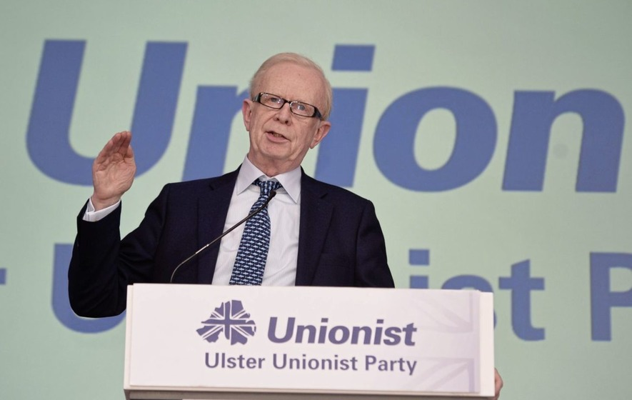 Lord Empey said the EU has `no scruples in using the Irish Border question as a tool to protect themselves&#39