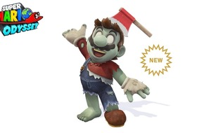 Zombie outfit comes to Super Mario Odyssey just in time for Halloween