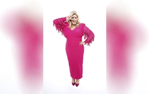Sleb Safari: Gemma Collins for the Dancing on Ice win