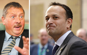 Sammy Wilson slams Leo Varadkar over 'despicable, low and rotten' Brexit border terror claims