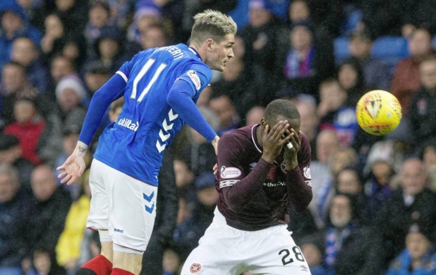 Rangers will be without Kyle Lafferty for Hamilton clash on Sunday