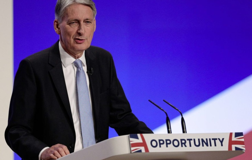 Breathing space for Philip Hammond as borrowing hits 16-year low