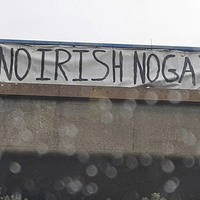 'No Irish No Gay' banner on motorway treated as hate crime