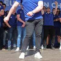 Students across UK use floss dance to campaign for school funding