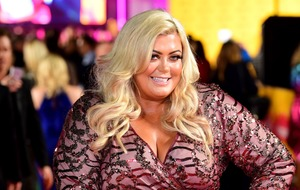 Gemma Collins appears to skydive into BBC Radio 1 Teen Awards