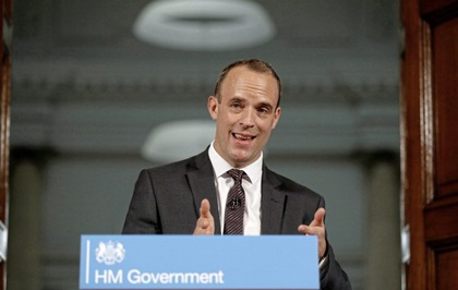 Brexit: Dominic Raab says transition extension should only occur if Irish border backstop proposal is removed