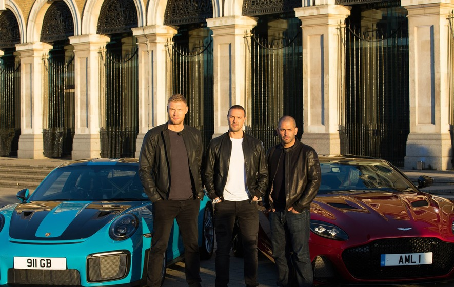 Paddy McGuinness and Freddie Flintoff to host Top Gear