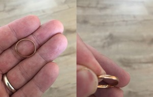 Twitter users are trying to help return this very old wedding ring to its owner