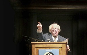 Michael D Higgins looks certain to remain as Irish president after Friday's vote